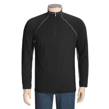 Thriv Bronx Shirt - UPF 50+, Zip Neck, Long Sleeve (For Men)
