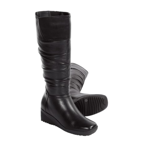 Blondo Colinda Winter Boots - Tall, Leather, Wedge (For Women)