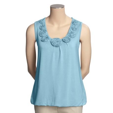 FDJ French Dressing Rosette Tank Top (For Women)