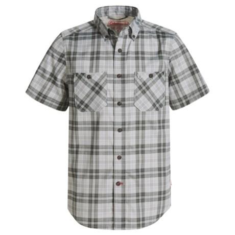 Coleman Stretch Guide Plaid Shirt - UPF 30, Short Sleeve (For Big Boys)