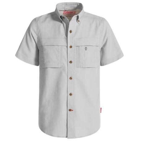 Coleman Stretch CVC Guide Shirt - UPF 30, Short Sleeve (For Big Boys)