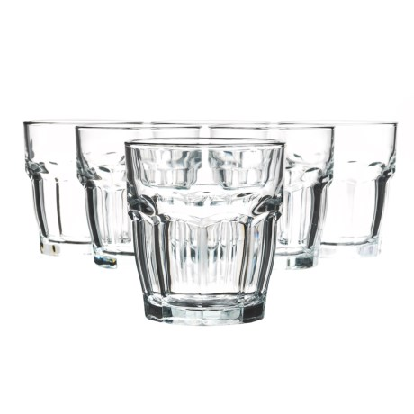 Bormioli Rocco Rock Bar Rocks Glasses - 9 fl.oz., Set of 6