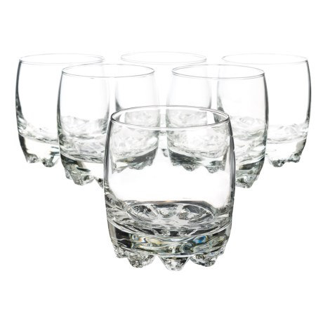 Bormioli Rocco Galassia Rocks Glasses - 10 fl.oz. Set of 6