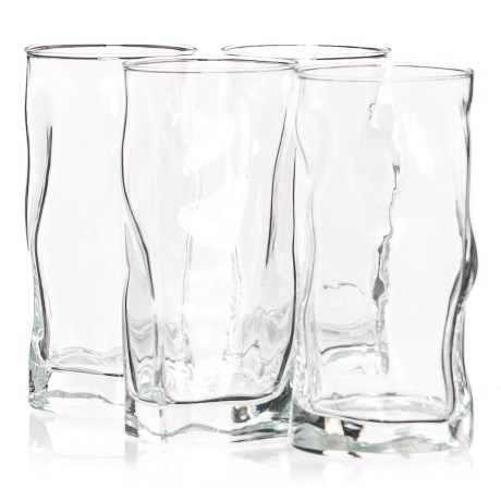 Bormioli Rocco Sorgente Cooler Glasses - 15 fl.oz., Set of 4