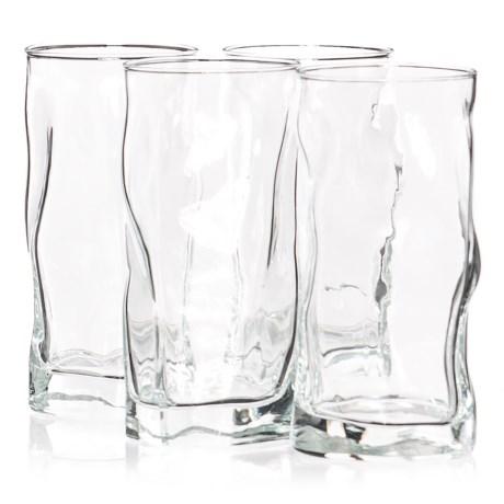 Bormioli Rocco Sorgente Cooler Glasses - 15 fl.oz., Set of 4