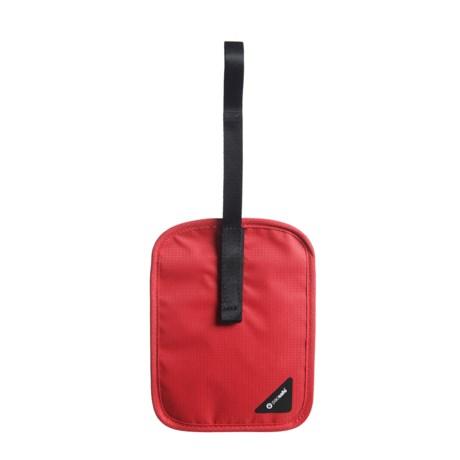 Pacsafe Coversafe V60 RFID-Blocking Secret Belt Wallet