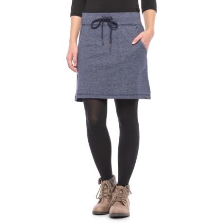 Freedom Trail Drawstring Fleece Skirt (For Women)