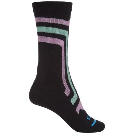 FITS Light Hiker Socks - Merino Wool, Crew (For Men and Women)