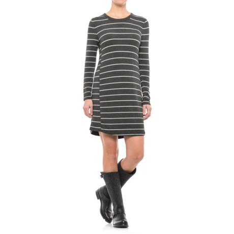 Specially made Striped Jersey Dress - Long Sleeve (For Women)