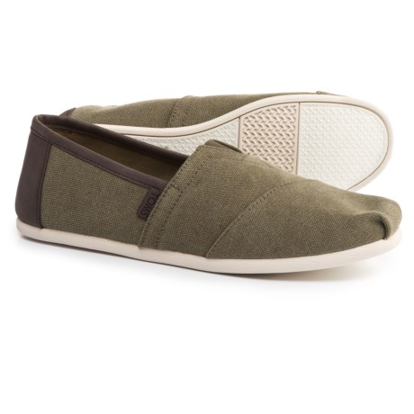 TOMS Classic Alpargata Canvas Shoes - Slip-Ons (For Men)