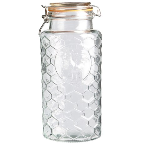 Grant Howard Embossed Rooster Storage Jar - 82 oz.