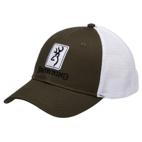 Browning Dry Creek Trucker Hat (For Men)