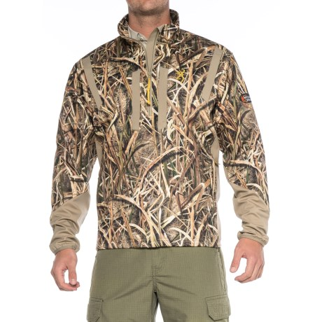 Browning Wicked Wing Soft Shell Jacket - Zip Neck (For Men)