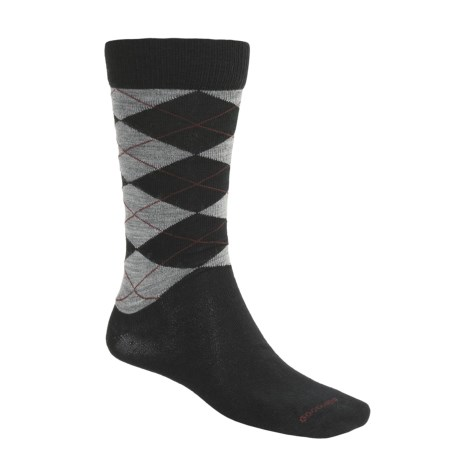 Goodhew Argyle Socks - Merino Wool (For Men)