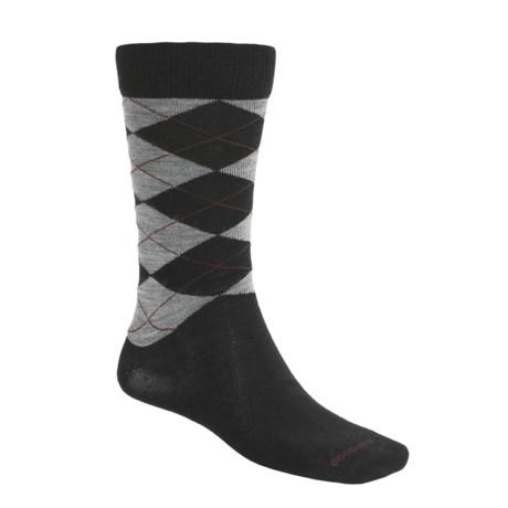 Goodhew Argyle Socks - Merino Wool (For Men)