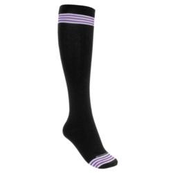 Goodhew Striped Knee Socks - Merino Wool (For Women)