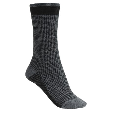 Goodhew Houndstooth Socks - Merino Wool (For Women)