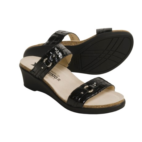 Mephisto Naiade Sandals - Slip-Ons, Rhinestone Accent (For Women)