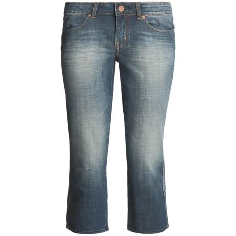 Buffalo Renee Stretch Denim Capri Pants - Low Rise (For Women)