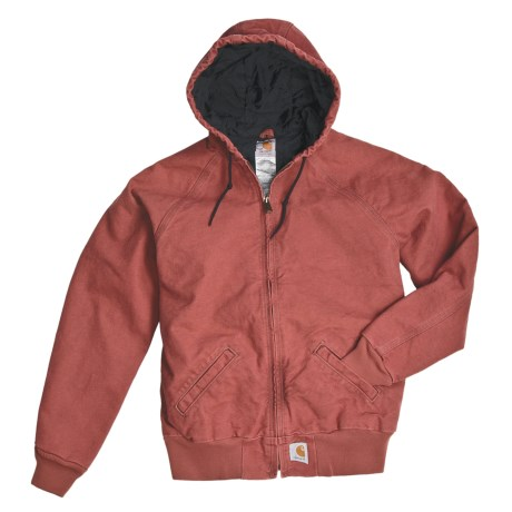 Carhartt Active Sandstone Work Jacket - Quilt-Lined, Athletic Cut Sleeve (For Women)