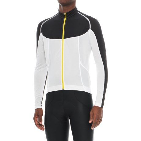 Mavic Ksyrium Pro Cycling Jersey - UPF 30, Full Zip, Long Sleeve (For Men)