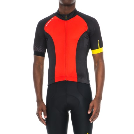 Mavic Cosmic Elite Cycling Jersey - UPF 30, Full Zip, Short Sleeve (For Men)