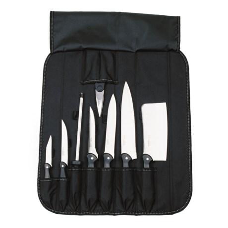 BergHOFF Studio Cutlery Set in Folding Wrap Bag - 9-Piece