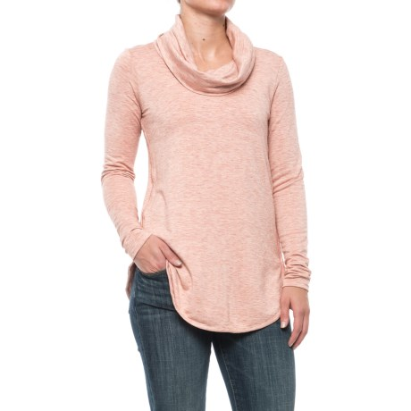 Specially made Cowl Neck Shirt - Long Sleeve (For Women)