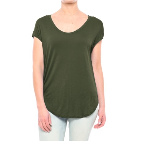Specially made Rayon Shirt - Short Sleeve (For Women)