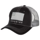 Browning Patriot Trucker Hat (For Men)