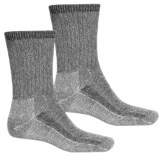 Terramar Midweight Hiker Socks - 2-Pack, Merino Wool, Crew (For Men and Women)