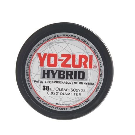 Yo-Zuri Hybrid Clear Fishing Line - 40 lb., 600 yds.