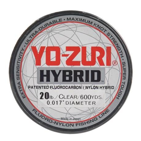 Yo-Zuri Hybrid Clear Fishing Line - 20 lb., 600 yds.