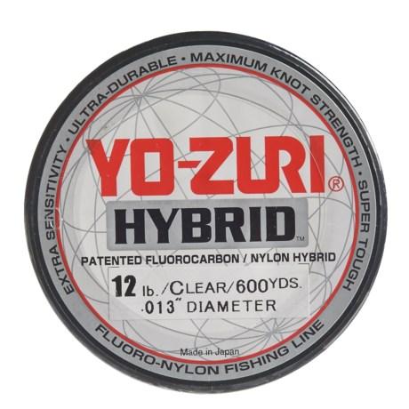Yo-Zuri Hybrid Clear Fishing Line - 12 lb., 600 yds.