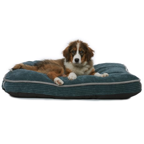 Happy Tails Comfort Corduroy Gusseted Dog Bed - 36x27""
