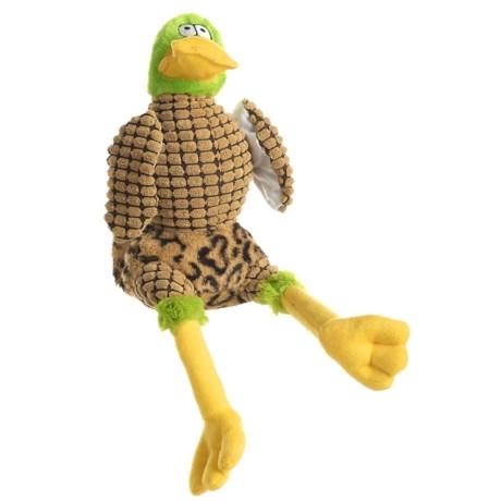 Happy Tails Doodles Wacky Duck Dog Toy - Squeaker