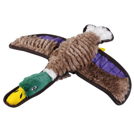 Happy Tails Ruffs Duck Dog Toy - Squeaker