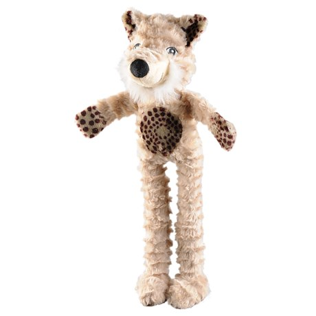 Happy Tails Ruffs Rope-Leg Bear Dog Toy