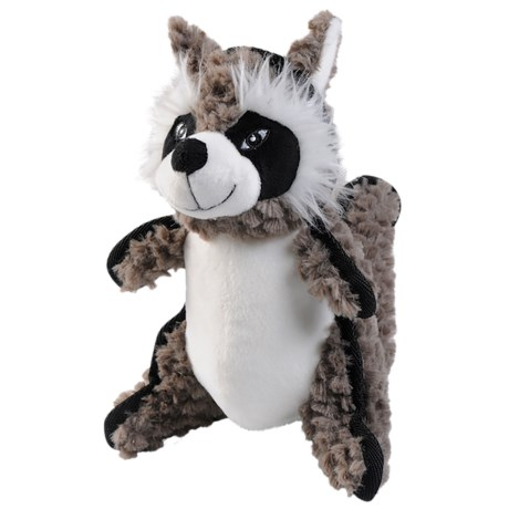 Happy Tails Ruffs Raccoon Dog Toy - Squeaker