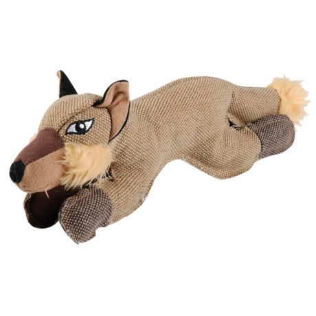 "Happy Tails CRITTERZ FOX ADVENTURE 14.5"" DOG TOY"