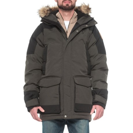 Fjallraven Kyl Down Parka - 500 Fill Power, UPF 50+ (For Men)