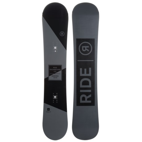Ride Snowboards Agenda Snowboard (For Men and Women)