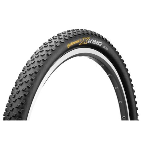 "Continental X-King ProTection + BlackChili Mountain Bike Tire - 29x2.2"", Folding"