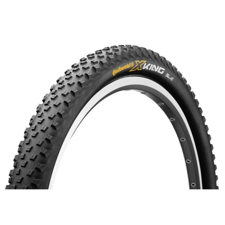 "Continental X-King ProTection + BlackChili Mountain Bike Tire- 27.5x2.4"", Folding"