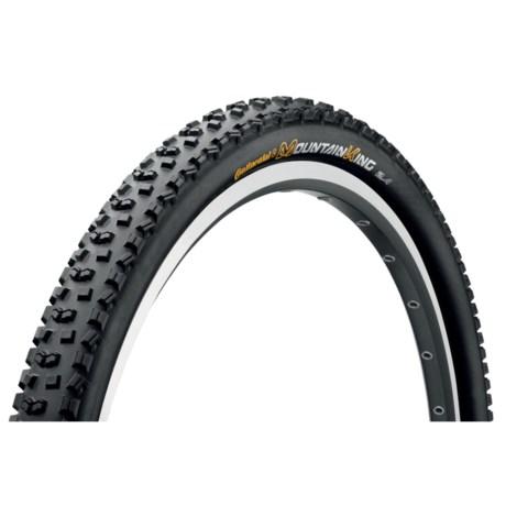"Continental Mountain King II ProTection + BlackChili Mountain Bike Tire - 29x2.4"", Folding"