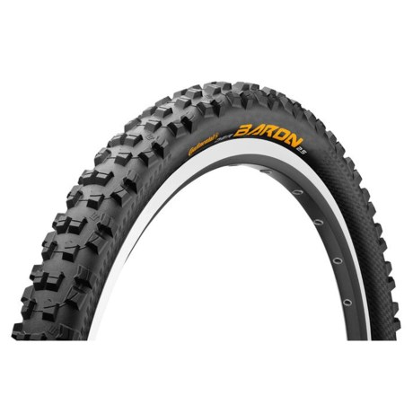 "Continental Der Baron Projekt ProTection BlackChili Mountain Bike Tire - 29x2.4"", Folding"