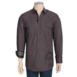 Brooks & Dunn by Panhandle Slim Gingham Check Shirt - Cotton, Long Sleeve (For Men)