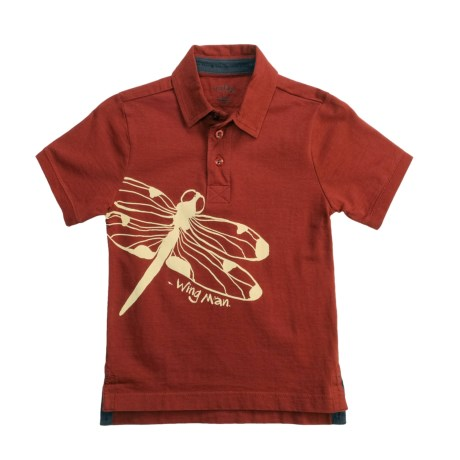 Hatley Cotton Polo Shirt - Short Sleeve (For Boys)