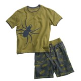 Hatley Shirt and Short Play Set - 2-Piece, Short Sleeve (For Kids)