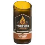 Torched Pumpkin Porter Beer Bottle Soy Candle - 8 oz.